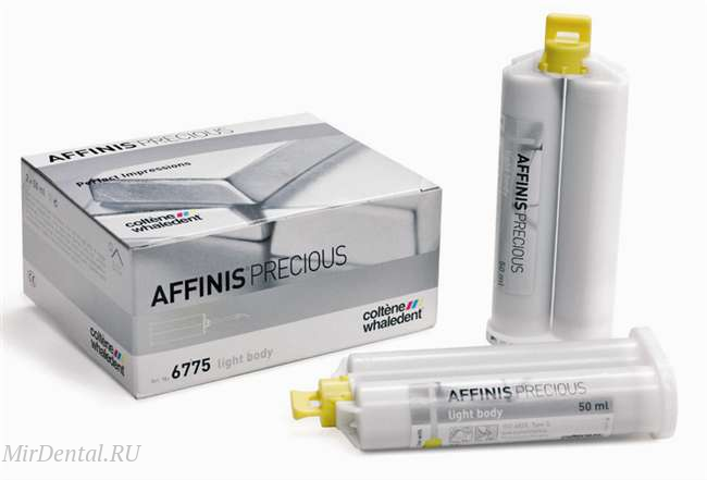 "Оттискной материал ""AFFINIS PRECIOUS LIGHT BODY"" COLTENE (Швейцария)  от MirDental"